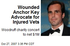 Wounded Anchor Key Advocate for Injured Vets