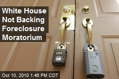 Foreclosure Moratorium Heats Up Political Debate