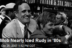 Mob Nearly Iced Rudy in '80s