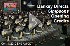 Banksy Directs Simpsons Opening Credits