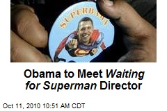 Obama to Meet Waiting for Superman Director