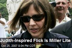 Judith-Inspired Flick Is Miller Lite