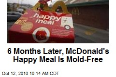 6 Months Later, McDonald's Happy Meal Is Mold-Free