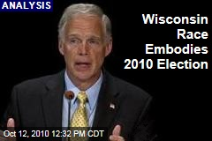 Wisconsin Race Embodies 2010 Election