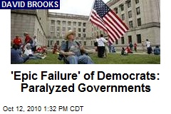 'Epic Failure' of Democrats: Paralyzed Governments