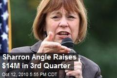 Sharron Angle Raises $14M in 3rd Quarter