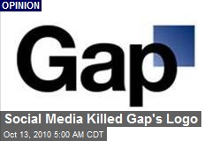 Twitter Credited With Killing Gap Logo