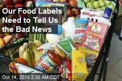 Report Calls for Honest Food Labels