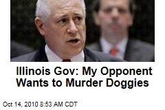 Pat Quinn Ad: Opponent Bill Brady Wants to Kill Dogs