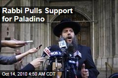 Rabbi Pulls Support for Paladino