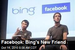 Facebook: Bing's New Friend