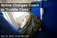 Airline Changes Coach to 'Cuddle Class'