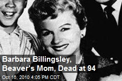 Barbara Billingsley, Beaver's Mom, Dead at 94