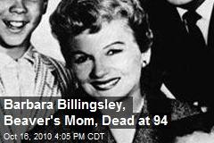 Barbara Billingsley, Beaver's Mom, Dead at 94
