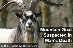 Mountain Goat May Have Killed Man