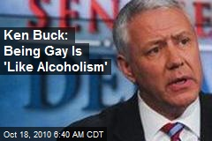 Ken Buck: Being Gay Is 'Like Alcoholism'
