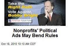 Nonprofits' Political Ads May Bend Rules