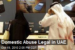 Domestic Abuse Legal in the UAE