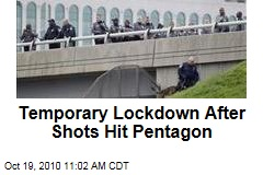 Temporary Lockdown After Shots Hit Pentagon