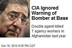 CIA Ignored Warning of Bomber at Base