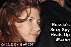 Russia's 'Mata Hari' Heats Up Maxim
