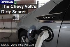 The Chevy Volt's Dirty Secret