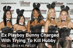 Ex Playboy Bunny Charged With Trying To Kill Hubby