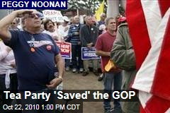 Tea Party 'Saved' the GOP