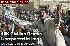 WikiLeaks: 15K Unreported Civilian Deaths in Iraq