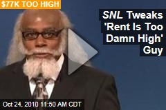 SNL Tweaks 'Rent Is Too Damn High' Guy