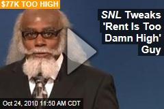SNL Tweaks 'Rent Is Too Damn High' Guy