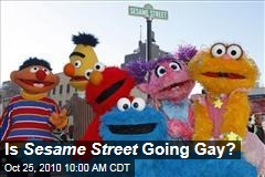 'Sesame Street' Becomes More Gay-Friendly; Bert May Have Even Come Out