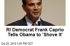 RI Democrat Frank Caprio Tells Obama to 'Shove It'