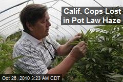 Calif. Cops Lost in Pot Law Haze