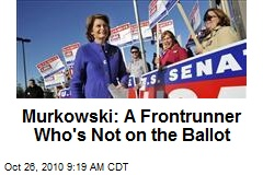 Murkowski: A Frontrunner Who's Not on the Ballot