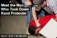 Gun-Toter Tea Partier Took Down Rand Protester