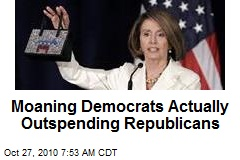 Democrats Actually Outspending Republicans