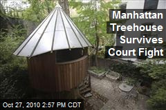 Manhattan Treehouse Survives Court Fight
