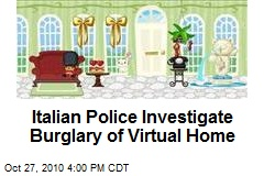 Italian Police Investigate Burglary of Virtual Home