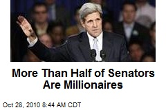 More Than Half of Senators Are Millionaires