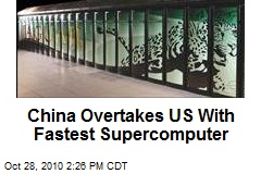 China Overtakes US With Fastest Supercomputer