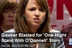 Gawker Blasted for 'One-Night Stand With O'Donnell' Story