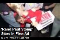 'Rand Paul Stomp' Stars in First Ad
