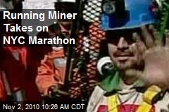 Running Miner Takes on NYC Marathon
