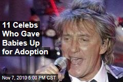 Rod Stewart, Roseanne Barr, David Crosby, Joni Mitchell: 11 Stars Who Gave Babies Up for Adoption