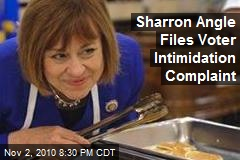 Sharron Angle Files Voter Intimidation Complaint