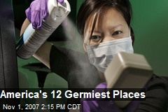 America's 12 Germiest Places