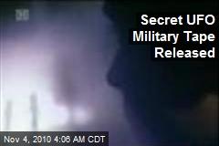 Secret UFO Military Tape Released of 'Unreal' Lights