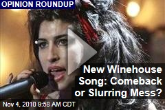 New Winehouse Song: Comeback or Slurring Mess?