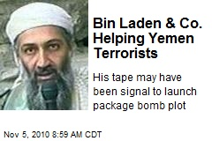 Bin Laden & Co. Helping Yemen Terrorists